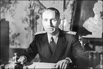 Maurice Papon in the 1940s.
