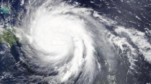 瑪麗亞颶風席捲波多黎各  2017年9月20日