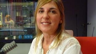 La pintora argentina Cristina Barr en RFI