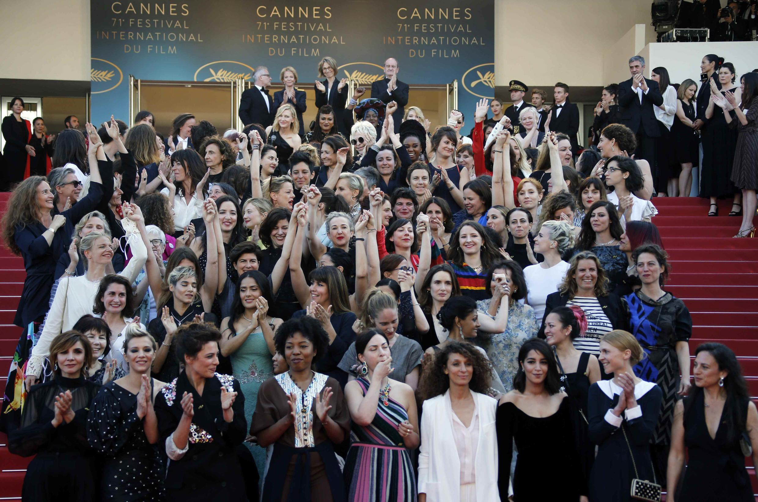 The 83 women at the Cannes Film Festival