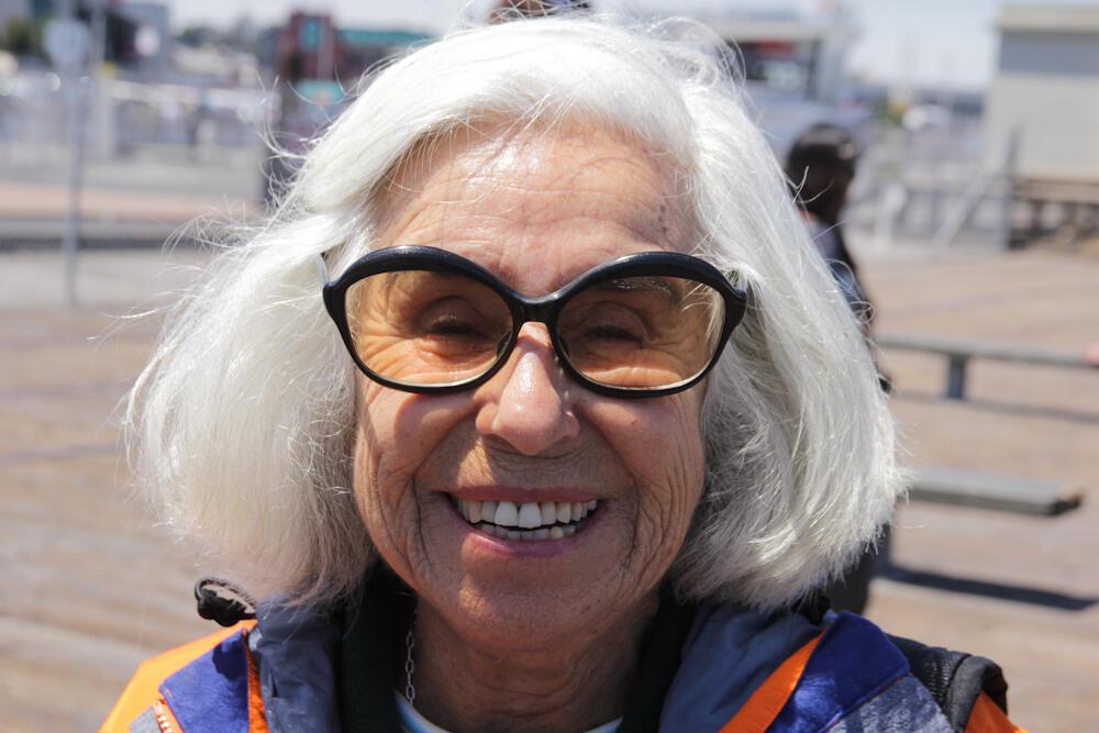 Femme de 70 ans.