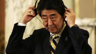នាយករដ្ឋមន្ត្រីជប៉ុន លោក Shinzo Abe