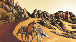 Isabelle Eberhardt, la vagabonde des sables. Coll. EXPLORA, éditions Glénat.
