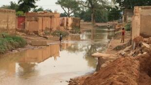 A Zinder, dans le sud du Niger, les inondations ont affecté 300 foyers et tué deux personnes.