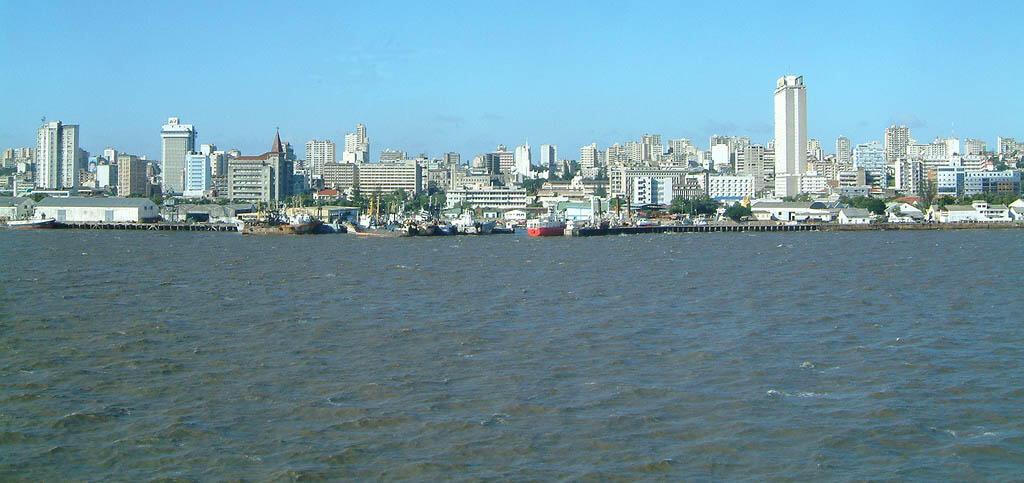Maputo, mji mkuu wa Msumbiji.