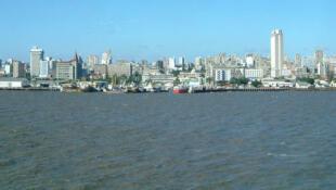 Vue de Maputo, capitale du Mozambique.