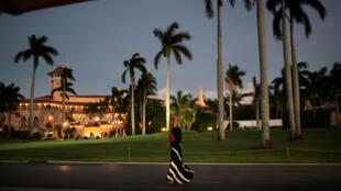 Sân đánh golf Mar-a-Lago, còn được gọi là «Nhà Trắng ở phía nam » của gia đình tổng thống Mỹ Donald Trump