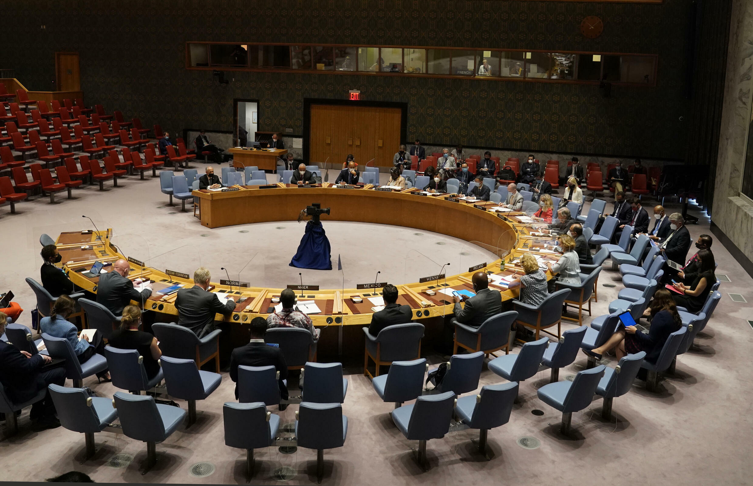 The UN Security Council's resolution says it expects the Taliban to allow an orderly evacuation from Afghanistan