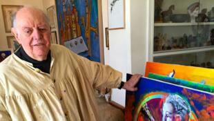 Dario Fo, dramaturge, écrivain, peintre, à 90 ans le prix Nobel de Littérature reste en mouvement.