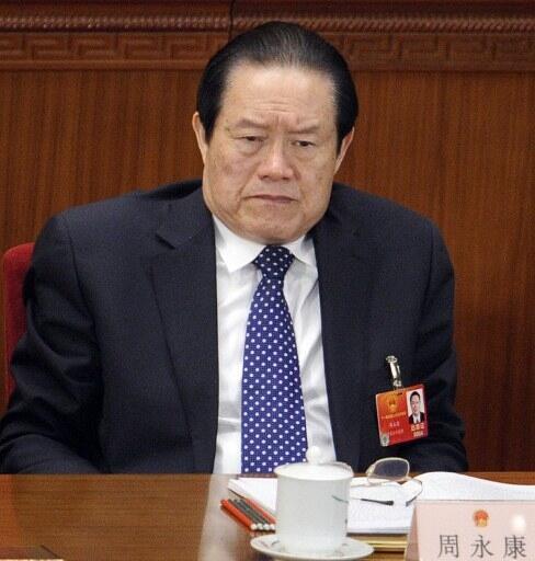 Zhou Yongkang, ancien chef de la sécurité publique et surtout parrain du «prince» déchu Bo Xilai.