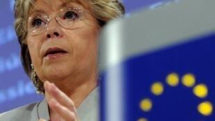 Вивиан Рединг, европейский комиссар по вопросам юстиции