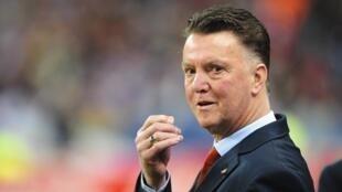 Louis van Gaal, kocha wa timu ya taifa ya uholanzi aliyetangazwa kuwa kocha mkuu wa klabu ya Manchester United