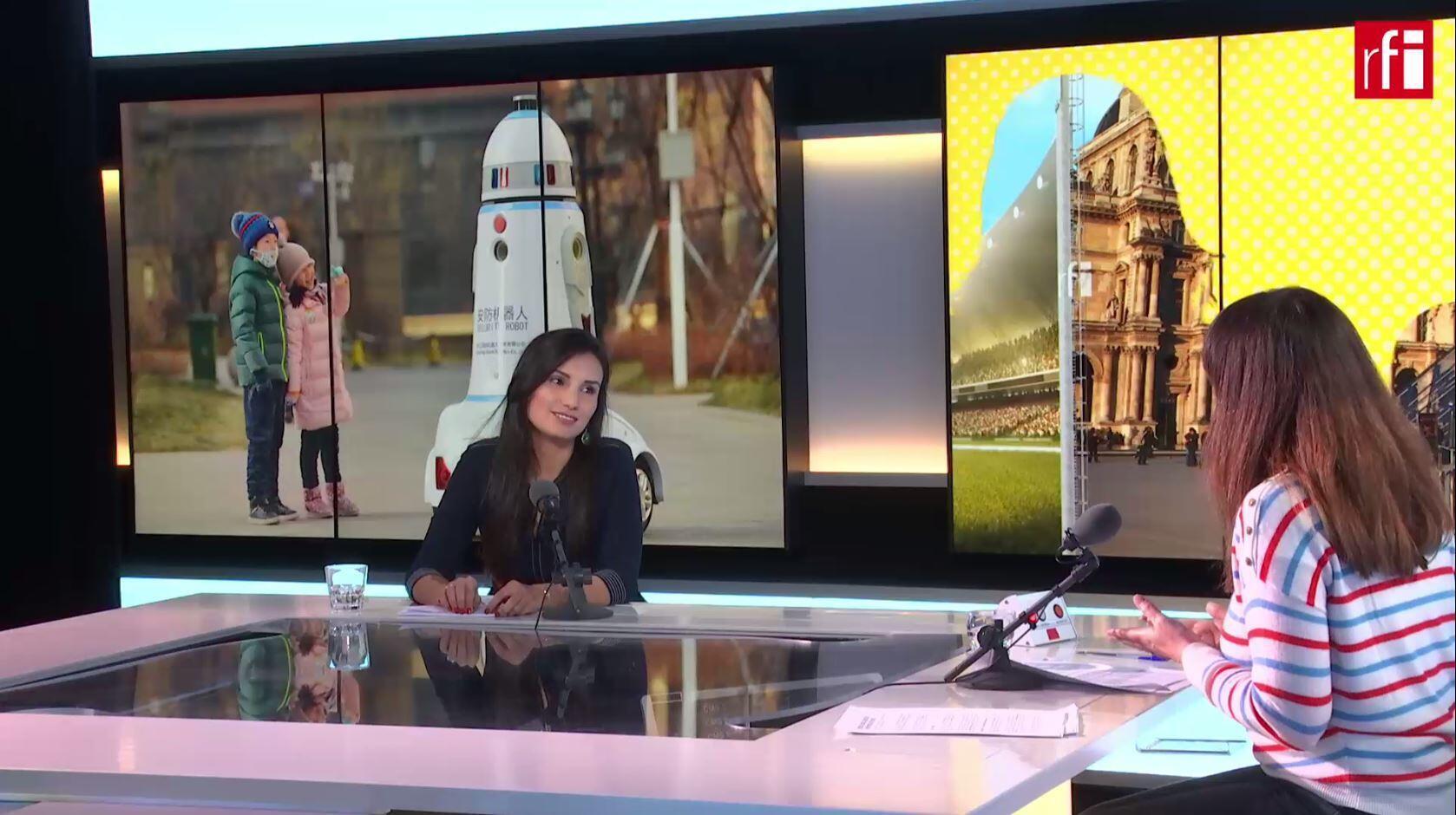 Angela Cubillos, abogada especializada en nuevas tecnologías, en Escala en París
