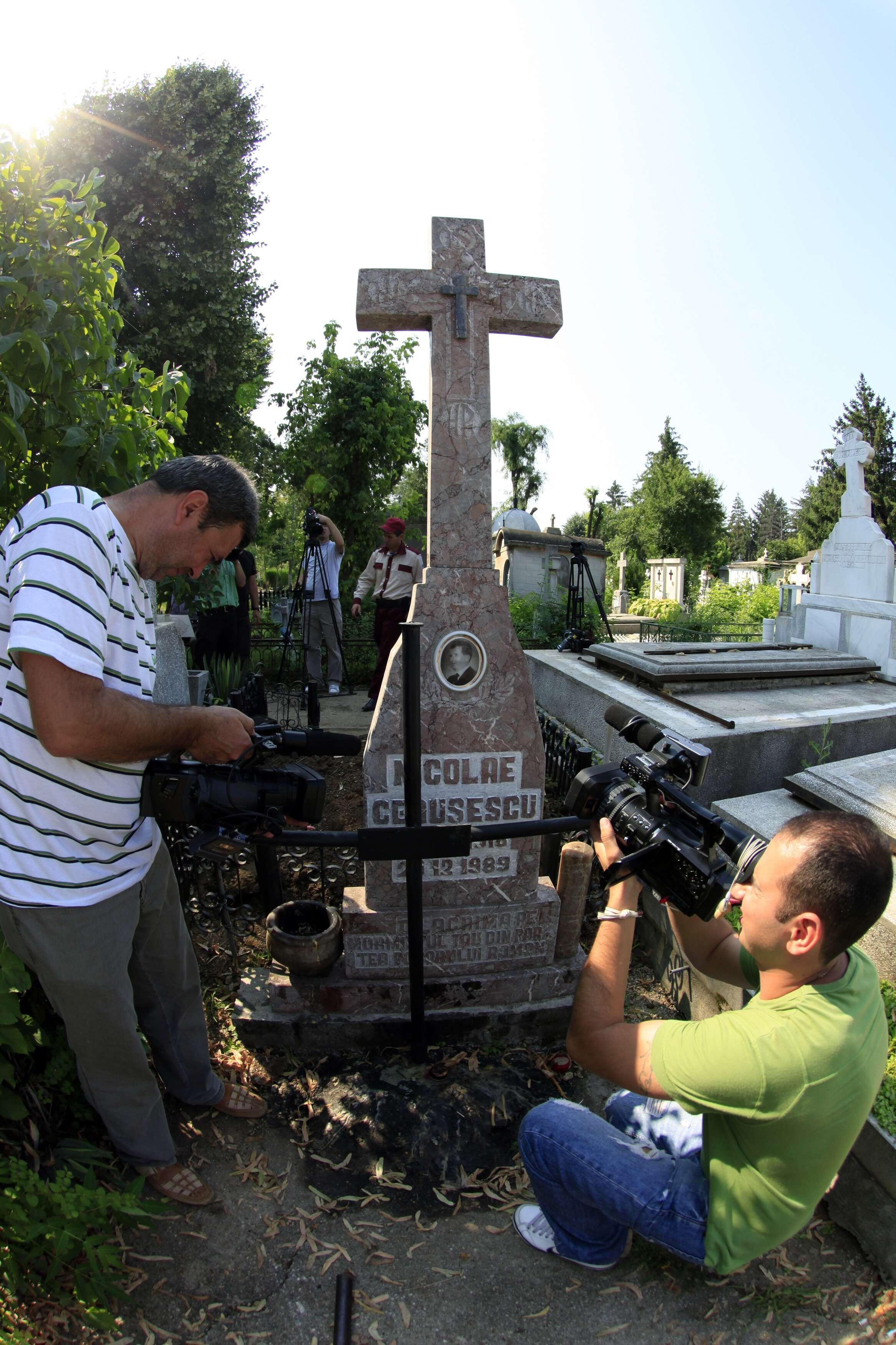 Ngôi mộ được coi là của nhà độc tài Ceausescu
