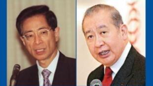 香港李柱铭(左)李国宝