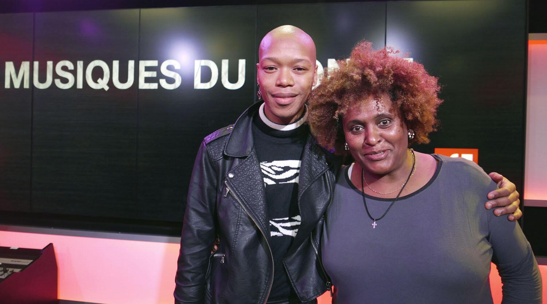 Nakhane et Etenesh Wassié à RFI.