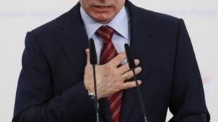 O premiê russo, Vladimir Putin.