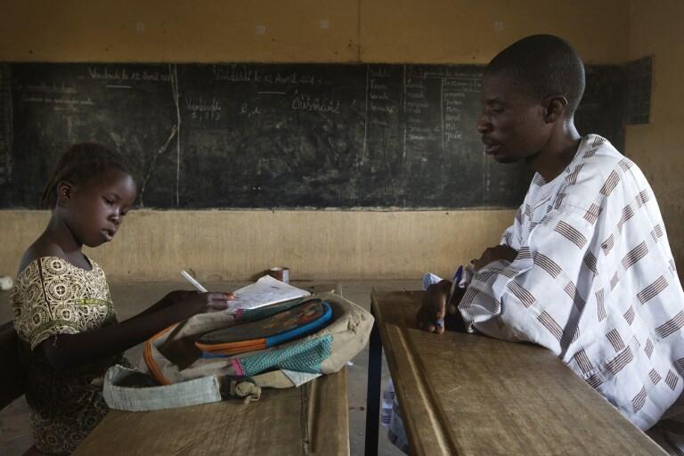 La diversité linguistique passe par l'enseignement. Ici une école à Gao, au Mali.
