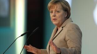 La chancelière allemande, Angela Merkel, le 25 novembre 2010.
