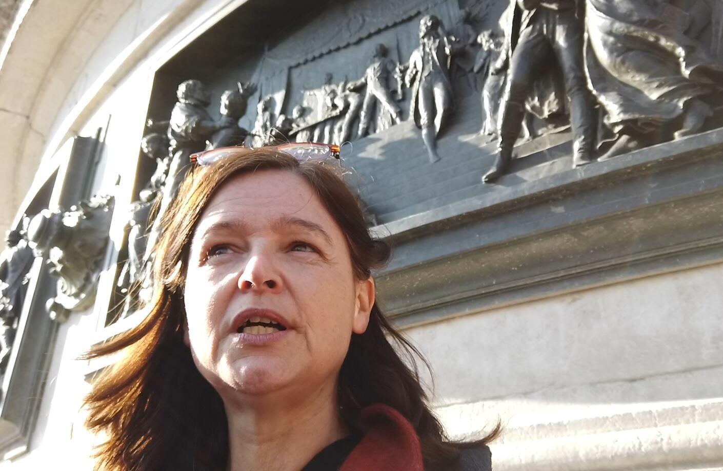 Katrien van der Heyden, mother of Anuna de Wever
