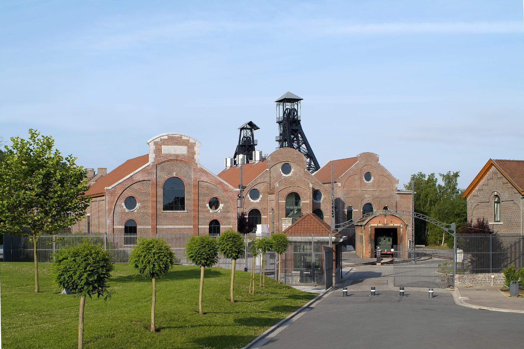 成為聯合國世界文化遺產的比利時南部4座廢棄煤礦場之一(bois du Cazier)