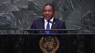 Filipe Nyusi, presidente de Moçambique na 73ª Assembleia-Geral das Nações Unidas. 25/09/18
