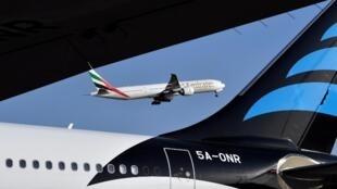 Ảnh minh họa các hoạt động trong ngành hàng không dân dụng.