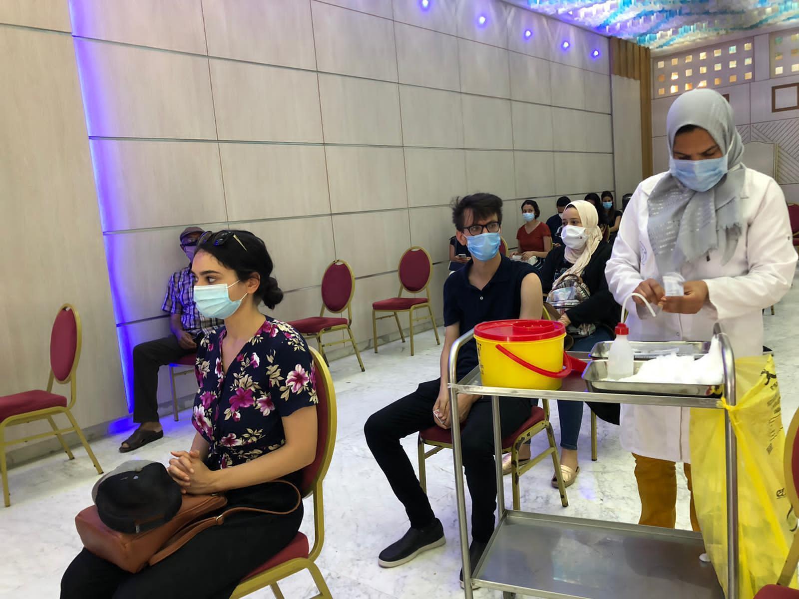 Centre de vaccination du palais des congrès 29/07/2021, Tunis