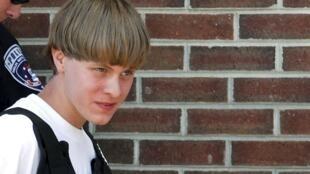 Dylann Roof, suspecté d'être le meurtrier de la fusillade de Charleston, aux Etats-Unis, a été interpellé en Caroline du Nord, le 18 juin 2015.