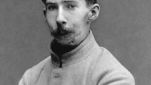 Un soldat français mutilé après la Première guerre mondiale.