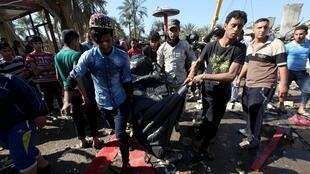 伊拉克发生炸弹爆炸。2016-03-06