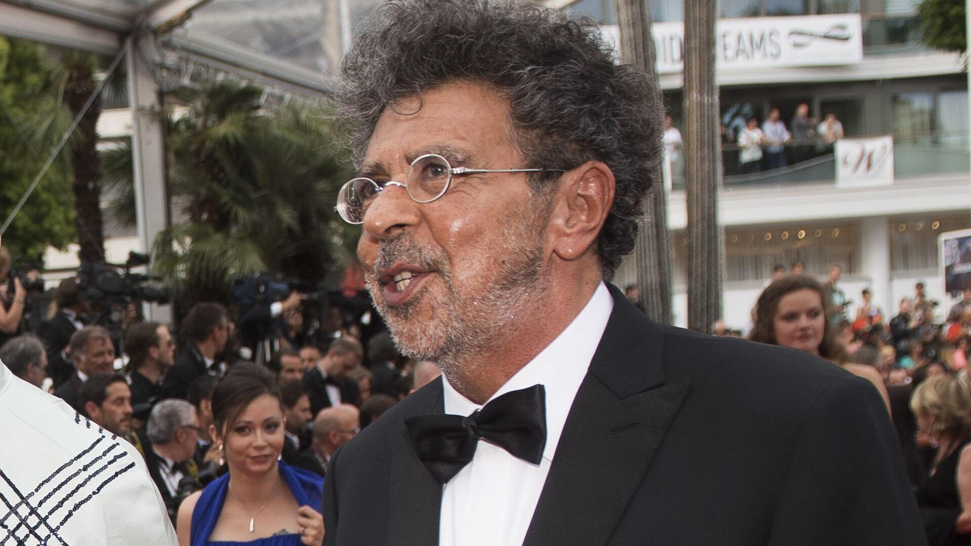Gabriel Yared sur le Tapis rouge du 70e festival international du film de Cannes pour la projection du film «L'Amant double», le vendredi 26 mai 2017.