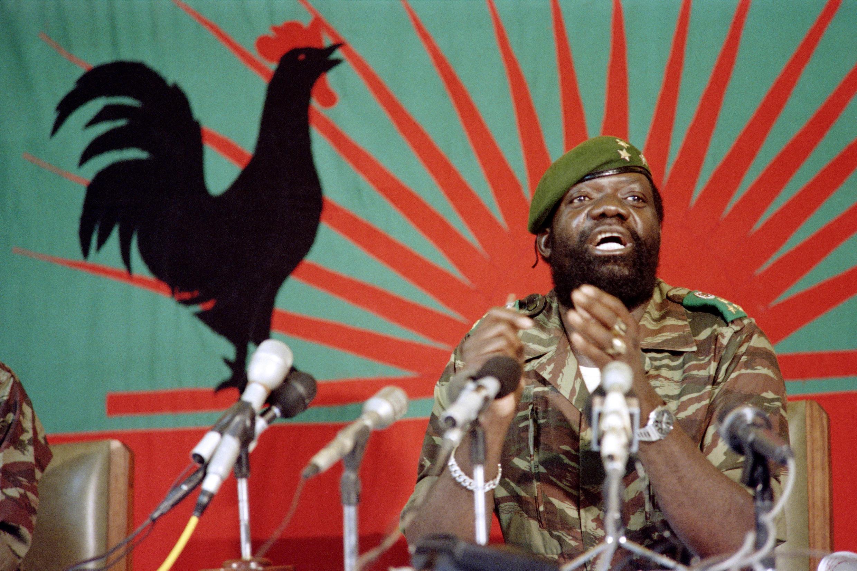 A paz foi assinada em Angola depois da morte em Fevereiro de 2002 de Jonas Savimbi.