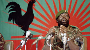 Unita chief Jonas Savimbi in December 1985