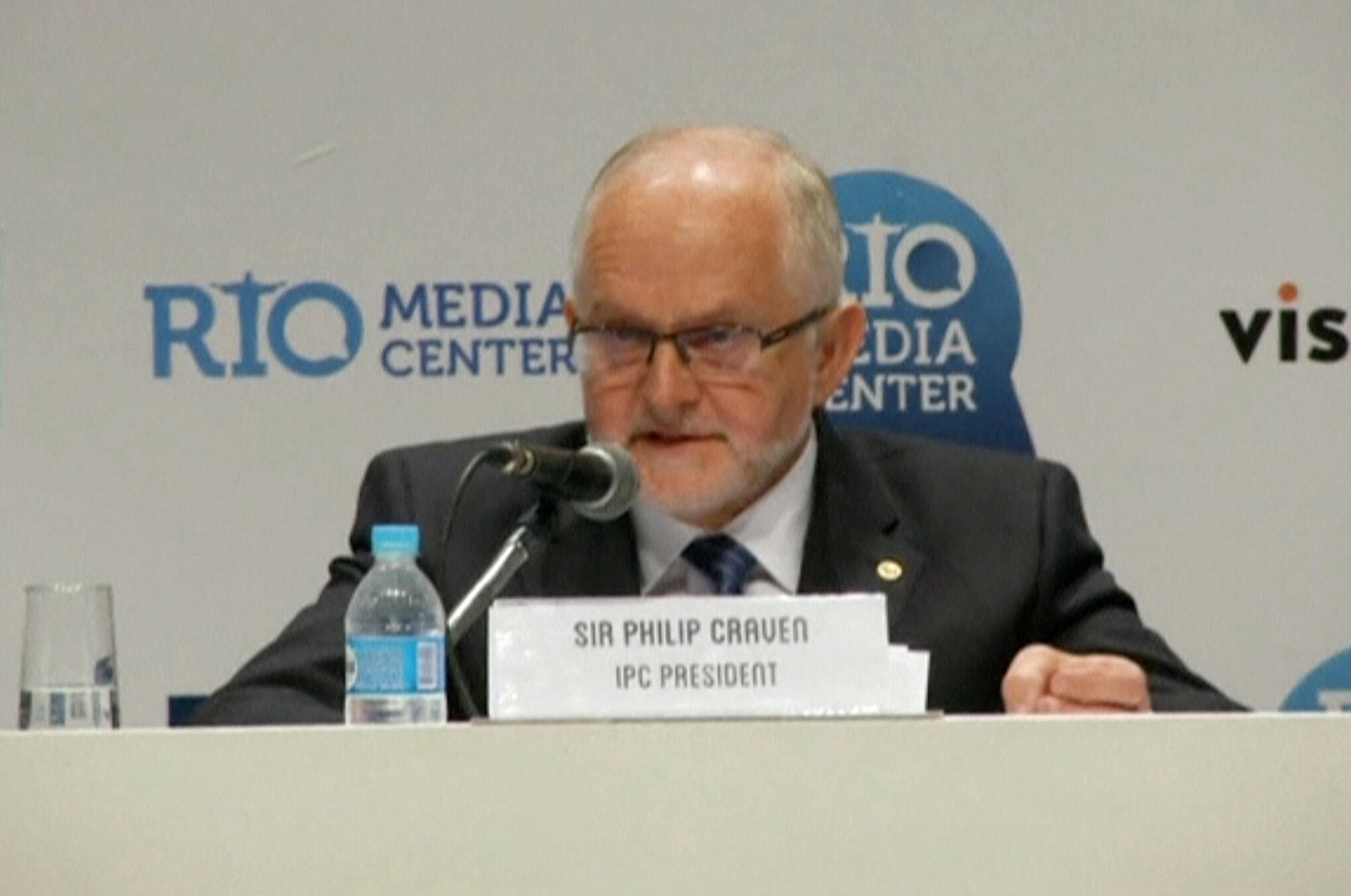 Para o presidente do CPI, Philip Craven, a exclusão da Rússia dos Jogos Paralímpicos era necessária.