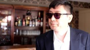 Diao Yinan, réalisateur du polar « Le lac aux oies sauvages », en lice pour la Palme d'or au Festival de Cannes 2019.