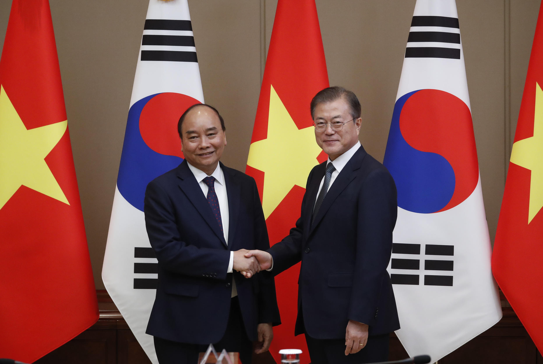 Vietnam - Corée du Sud - PM Nguyen Xuan Phuc - Moon Jae In