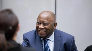 Laurent Gbagbo, l'ex-président ivoirien, lors d'une audience devant la CPI, le 15 janvier 2019.