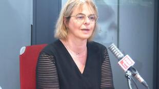Véronique Guillotin, médecin, sénatrice RDSE de Meurthe-et-Moselle et conseillère régionale du Grand-Est dans les studios de RFI , le 16 septembre 2020.