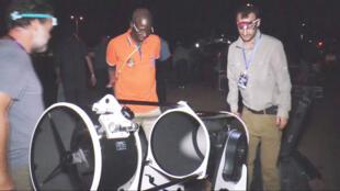 Les scientifiques américains et sénégalais prêts à observer le passage de l'astéroïde Ultima Thulé.