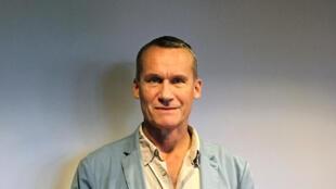 Andreï Makine, écrivain et académicien, dans les studios de RFI.