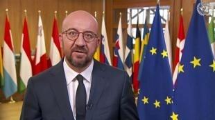 欧洲理事会主席夏尔·米歇尔资料图片
