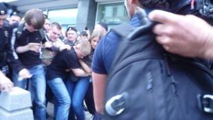 Пикет у Госдумы РФ, Москва 11.06.2013