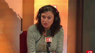 Emilie Blachere, reporter à Paris Match et auteur du livre «Une fleur sur les cadavres», Edition Plon.