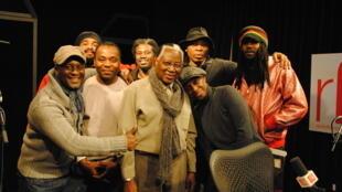 Sorry Bamba, ses musiciens, Claudy Siar et Lyricson