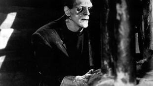 Fotograma de la película de Frankenstein de los años 30