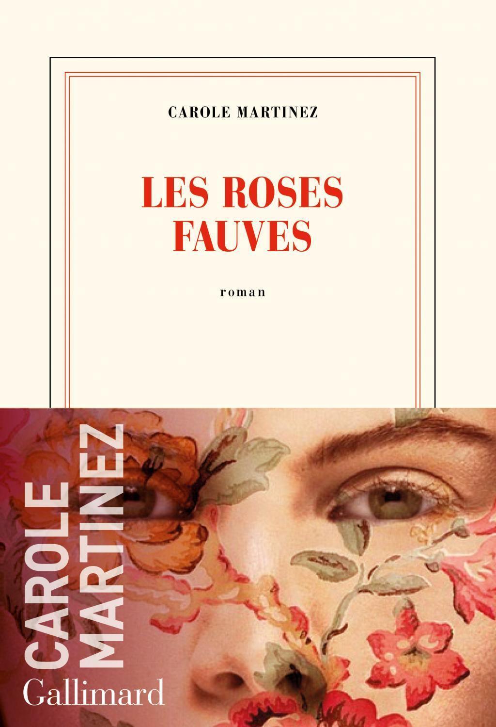 Couverture du nouveau roman de Carole Martinez