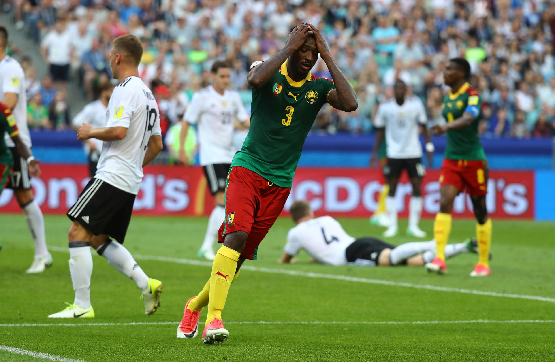 Timu ya taifa ya Cameroon imebanduliwa na Ujerumani kwenye michunao ya Kombe la Shirikisho, baada ya kufungwa 3-1.