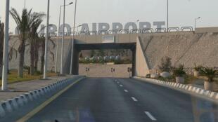 Entrée de l'aéroport international du Caire, en Egypte (photo d'archives).