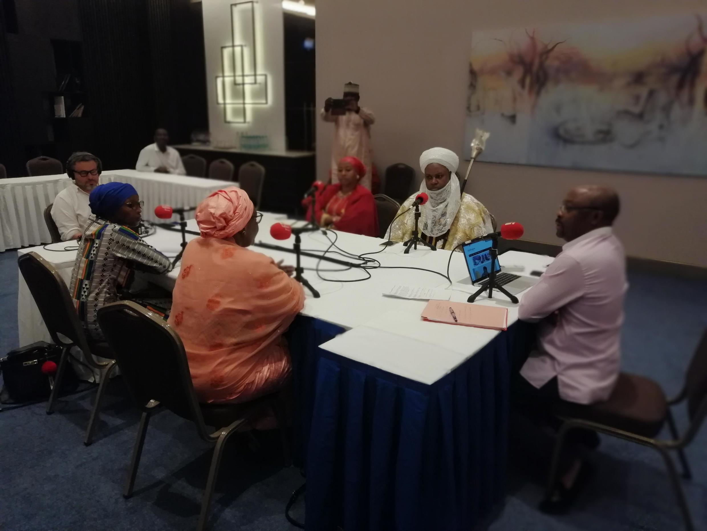 Studio du débat africain à Niamey, octobre 2019
